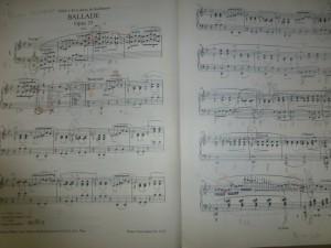 ショパン ピアノ バラード がく